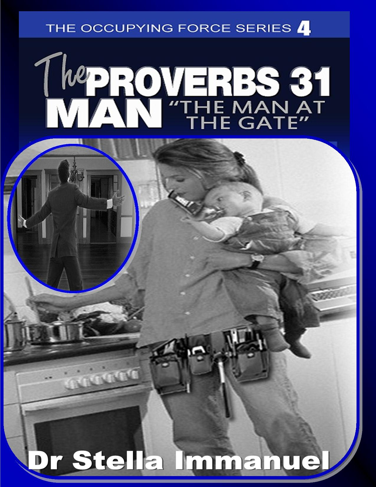 The Proverbs 31 man bk&frt