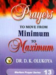 prayer for minimun to maximum