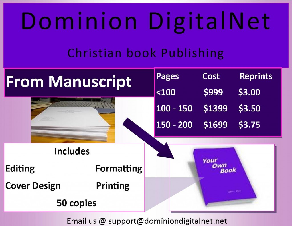 Dominion DigitalNet Book Publishing