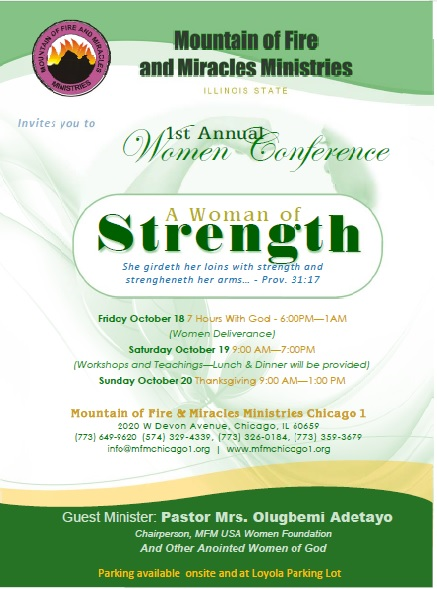 Womemens conf Chi